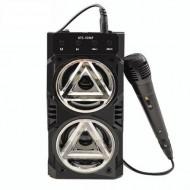 Boxa Portabila Bluetooth, KTS, AUX, Slot SD, USB, Microfon cu Fir inclus