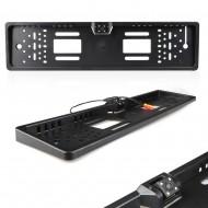Camera auto video marsarier incorporata in suport numar de inmatriculare