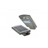 Proiector Stradal LED 20 W, Senzor Miscare, Panou Solar