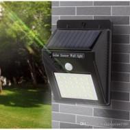 Lampa 20 x led cu incarcare solara si senzor de miscare