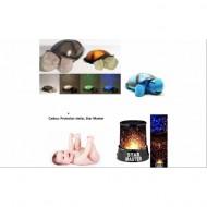 Lampa de veghe broscuta testoasa + Cadou: Veioza Star Master