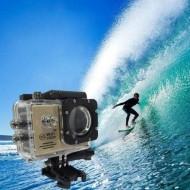 Camera video sport de actiune, Full HD, carcasa rezistenta la apa