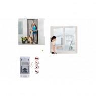 2+1 Cadou: Perdea magnetica anti insecte pentru Usa + Perdea magnetica pentru fereastra + Aparat anti-gandaci si sobolani