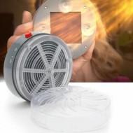 Aparat solar antiinsecte cu lumina UV