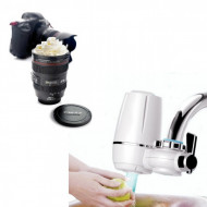 Purificator de apa cu robinet si filtru + Cadou: Termos OBIECTIV FOTO