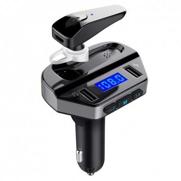 Modulator FM cu casca Bluetooth si functie de incarcare rapida