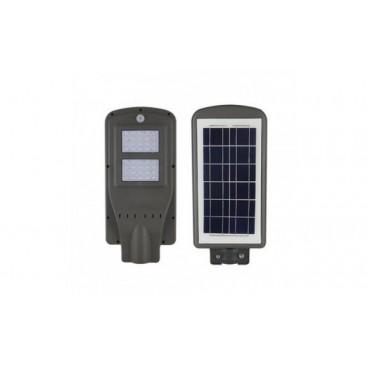 Proiector Stradal, 100 W, Senzor de Miscare , Panou Solar , Telecomanda Reglaj Intensitate