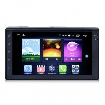 Unitate Multimedia 2DIN cu sistem de operare Android si Wifi, Radio DVD Player Mp5, Video, GPS
