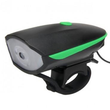 Lanterna bicicleta 2 in 1 cu Led si Alarma Eficienta garantata